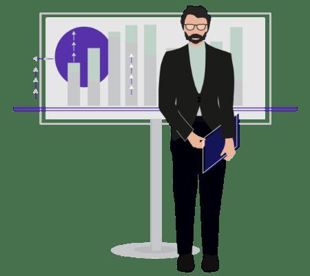Data migration expertise illustration