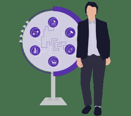 Data migration toolset illustration