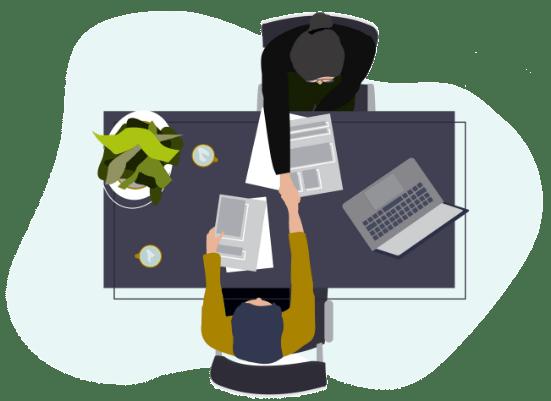 MINDSPIRE career page illustration