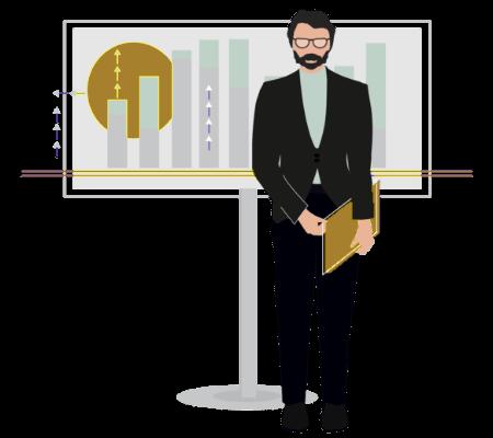 Banking transformation tools illustration
