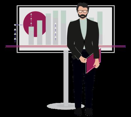 Project management adaptability illustration
