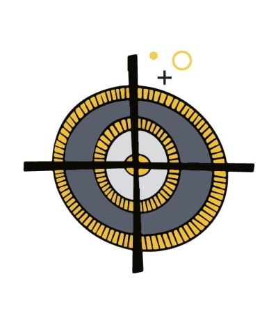 Project scope and target icon