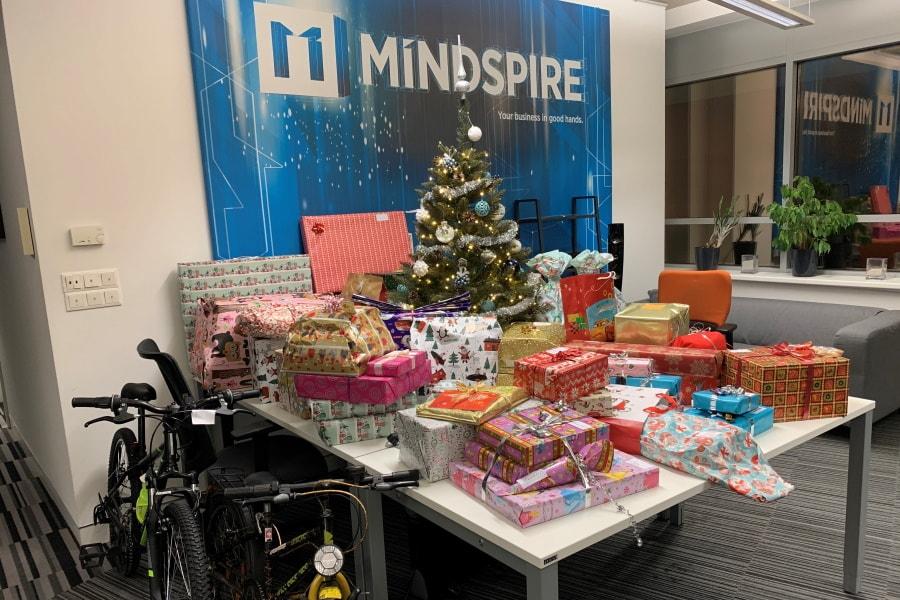 MINDSPIRE 2020 Christmas presents