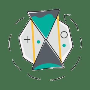 Minimizing downtime transport tool icon