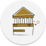 Banking transformation services icon