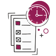 Project management services icon